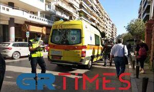 Θεσσαλονίκη: Mοτοσυκλέτα παρέσυρε κοπέλα