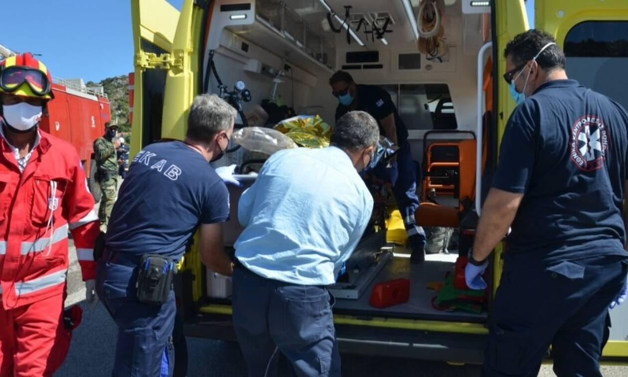 Λασίθι: Τροχαίο με εγκλωβισμένο και τραυματίες (vid)