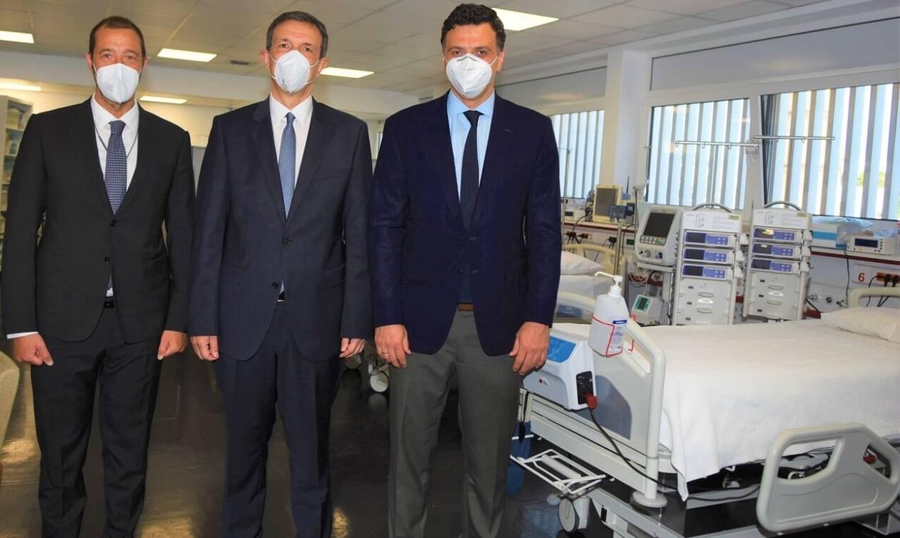 Κικίλιας: Έξι υπερσύγχρονες κλίνες ΜΕΘ στο Νοσοκομείο Παίδων «Η Αγία Σοφία»