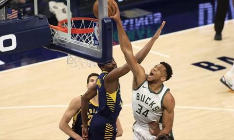 NBA: Θρυλικός Γιάννης - Μεγάλη νίκη για Μπακς (photos+video)