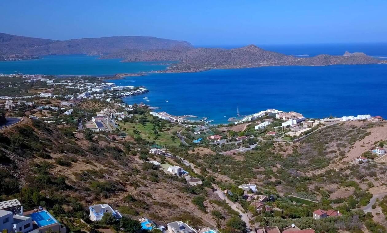 MIRABELLO BAY Drone 4K Crete Greece Ultra HD 0 24 screenshot