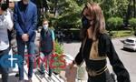 Αγγελοπούλου: Στη Θεσσαλονίκη με παραδοσιακή φορεσιά - «Να ψάξετε και να μάθετε λίγο ιστορία»