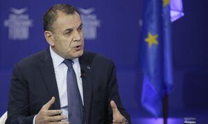Παναγιωτόπουλος: Ό,τι απειλείται, δεν αποστρατιωτικοποιείται - Τι είπε για τις νέες φρεγάτες