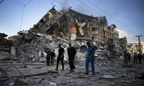 Σύγκρουση Ισραήλ- Γάζας: Έβδομη ημέρα εχθροπραξιών - Βομβαρδίστηκε το σπίτι του επικεφαλής της Χαμάς