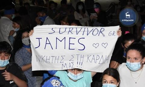 Survivor: Πανζουρλισμός στη Ρόδο για τον Τζέιμς - Τον υποδέχτηκαν με τιμές ήρωα! (vids)