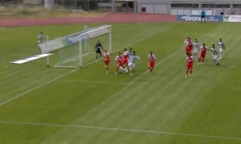Super League 2: Θα το ζήλευε και ο Ζλάταν - Απίθανο γκολ με τακουνάκι-λόμπα (video+photos)