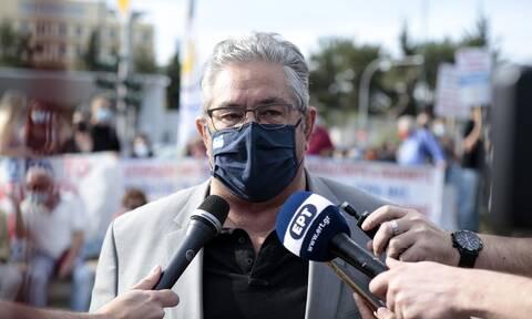 Κουτσούμπας: Απαιτούμε η ελληνική κυβέρνηση να προχωρήσει στην αναγνώριση του Παλαιστινιακού κράτους