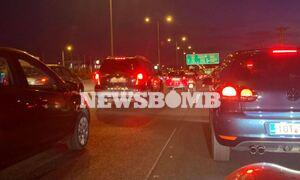 ΤΩΡΑ: Χάος στον Κηφισό - Καραμπόλα με εμπλοκή πέντε οχημάτων