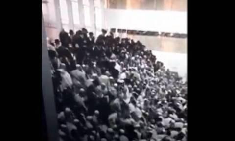 Ισραήλ: Κατάρρευση εξέδρας σε συναγωγή - Δύο νεκροί, εκατοντάδες τραυματίες - Σοκαριστικό βίντεο