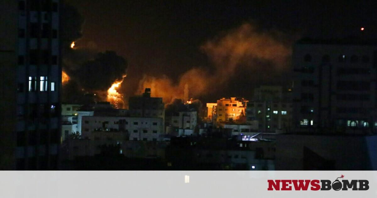 facebookgaza airstrikes1