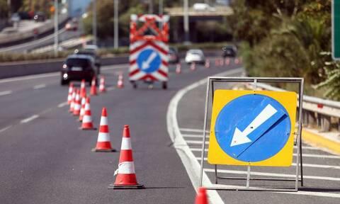Προσοχή! Κυκλοφοριακές ρυθμίσεις στην Ε. Ο. Αθηνών - Λαμίας - Κλείνουν λωρίδες έως τον Ιούνιο