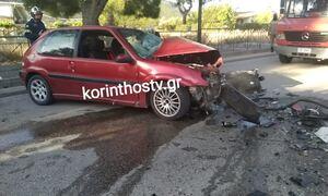 Τραγωδία στο Λουτράκι: Με αίμα «βάφτηκε» η άσφαλτος - Νεκρός 26χρονος οδηγός