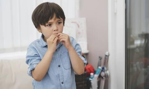 Σημάδια που δείχνουν ότι τα παιδιά σας έχουν άγχος