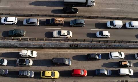 «Έμφραγμα» στους δρόμους της Αττικής μετά την άρση των μέτρων - Αύξηση κυκλοφορίας έως και 54%