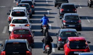 Κίνηση ΤΩΡΑ: Χάος στον Κηφισό - Σημειωτόν η κυκλοφορία των οχημάτων στην άνοδο