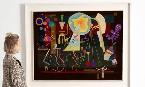 Στο σφυρί, ένας Kandinsky που ήταν στη συλλογή του Solomon R. Guggenheim
