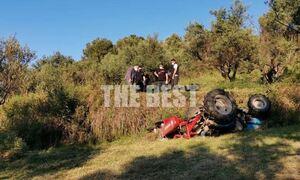 Τραγωδία στην Πάτρα: Νεκρός 47χρονος - Καταπλακώθηκε από τρακτέρ (vid)