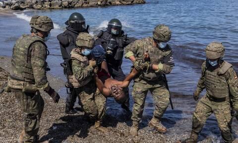 Μεταναστευτική κρίση στην Ισπανία: Αλληλεγγύη των ηγετών της ΕΕ στη Μαδρίτη για τη Θέουτα