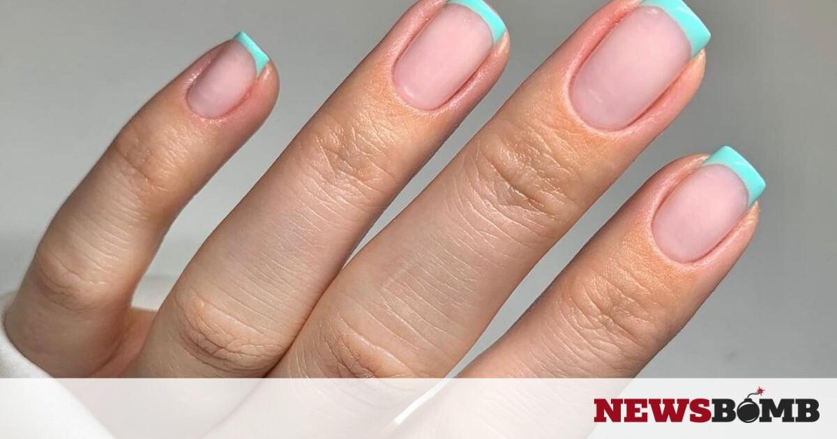 facebookaqua nail art
