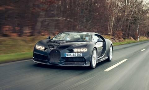 Αυτή η Bugatti Chiron έχει τραβήξει τα πάνδεινα!