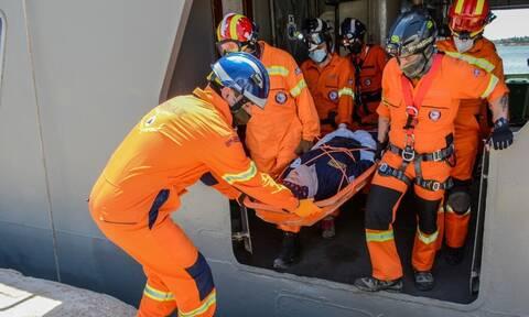 Πολεμικό Ναυτικό: Άσκήσεις μείζονος ατυχήματος σε Κρήτη και Σαλαμίνα - Πάντα δίπλα στη Πολιτεία