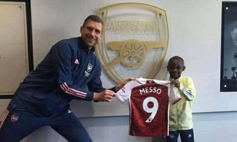 Άρσεναλ: Απέκτησε τον... Λέο Μέσο! - Είναι μόλις 10 ετών (video)