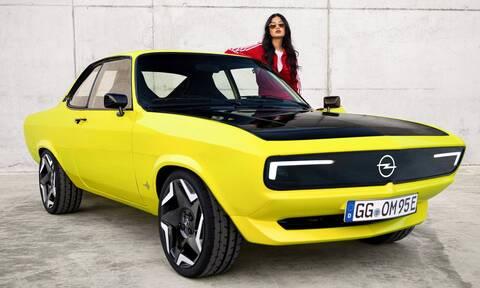 Opel Manta GSE ElectroMOD: Ρετρό σχεδίαση, ηλεκτρική καρδιά