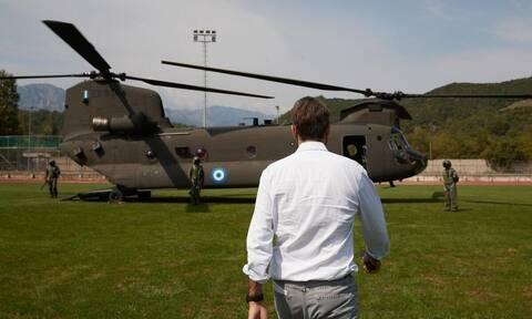 ΣΥΡΙΖΑ κατά Μητσοτάκη: Με ποιο ελικόπτερο έφυγες από την Τήνο;
