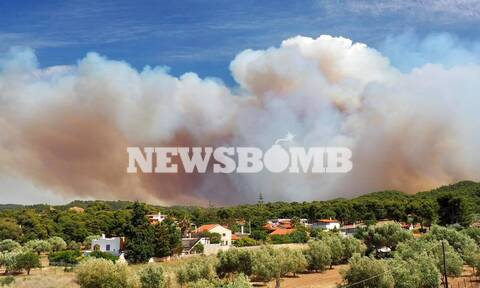 Φωτιά ΤΩΡΑ στην Κορινθία: Εκκενώνονται κι άλλοι οικισμοί - Νέο μήνυμα 112 στους κατοίκους