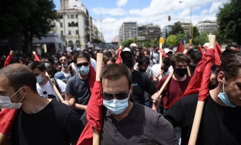 Νέα διαμαρτυρία φοιτητών στη Θεσσαλονίκη