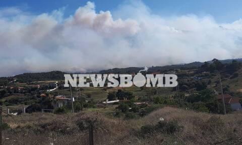 Φωτιά - LIVE BLOG: Τιτάνια μάχη με τις φλόγες σε Κορινθία, Αττική - Δραματικές ώρες