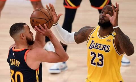 Lakers - Warriors: Ό,τι καλύτερο έχουμε δει φέτος