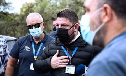 Φωτιά στην Κορινθία: Έκτακτη ενημέρωση από τον Νίκο Χαρδαλιά