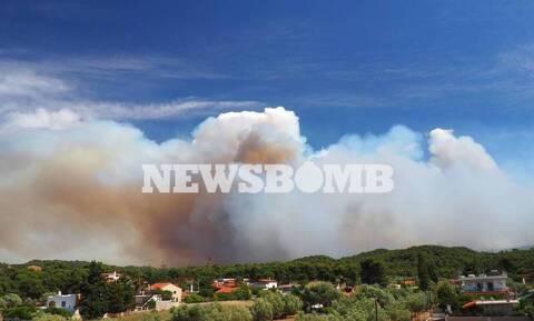 Προσοχή! Κυκλοφοριακές ρυθμίσεις στην ευρύτερη περιοχή του Αλεποχωρίου λόγω της πυρκαγιάς