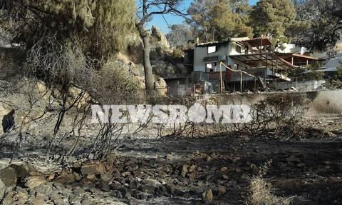 Φωτιά στην Κορινθία: Σε απόγνωση κάτοικοι στο Αλεποχώρι – «Δεν έμεινε τίποτα…» λένε στο Newsbomb.gr