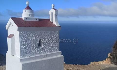 Γαύδος: Βουβός θρήνος στο μνημόσυνο της Κορίνας – Έχτισαν εκκλησάκι στην άκρη του νησιού