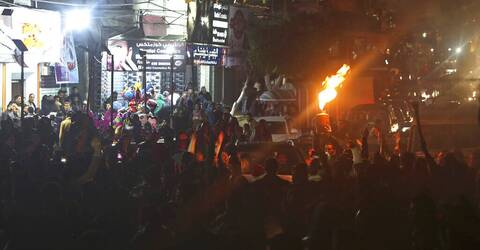 Μέση Ανατολή: Τέθηκε σε εφαρμογή η κατάπαυση του πυρός - Στους δρόμους οι Παλαιστίνιοι