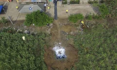 Φρίκη στο Ελ Σαλβαδόρ: Βρήκαν ομαδικό νεκροταφείο με 40 πτώματα σε σπίτι πρώην αστυνομικού
