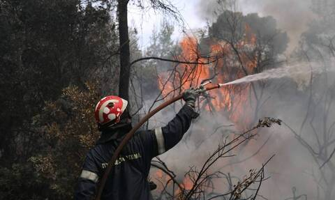 Φωτιά ΤΩΡΑ - Εκπρόσωπος τύπου Πυροσβεστικής: Έχουμε διάσπαρτες εστίες, βελτιωμένη η εικόνα