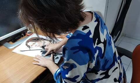 Άννα Τσούργιαννη: Η νέα εκπληκτική ζωγράφος ετών ...15 μιλά στο Newsbomb.gr