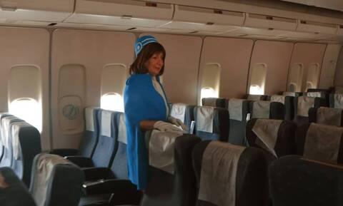 Ολυμπιακή: Ταξίδι στο χρόνο με το Boeing του Ωνάση και την αεροσυνοδό του Κωνσταντίνου Καραμανλή