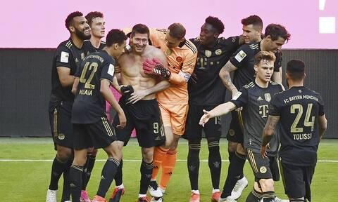 Bundesliga: Λεβαντόφσκι ο μύθος, υποβιβάστηκε η Βέρντερ! - Όλα τα γκολ της τελευταίας αγωνιστικής