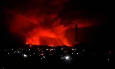 Κονγκό: Πανικός στην Γκόμα μετά την ενεργοποίηση του ηφαιστείου Νιραγκόνγκο