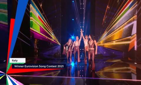 Eurovision 2021: Μεγάλη νικήτρια η Ιταλία! Τι θέσεις πήραν Ελλάδα και Κύπρος