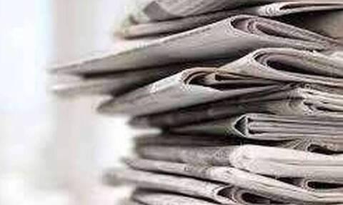 Πρωτοσέλιδα εφημερίδων σήμερα, Δευτέρα 24/05