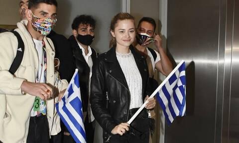 Στεφανία Λυμπερακάκη: Τώρα που τελείωσε η Eurovision μπορώ να φάω πιτόγυρο