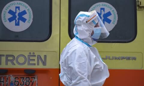 Κρούσματα σήμερα: 1.381 νέα, 563 διασωληνωμένους και 50 νέους θανάτους ανακοίνωσε ο ΕΟΔΥ