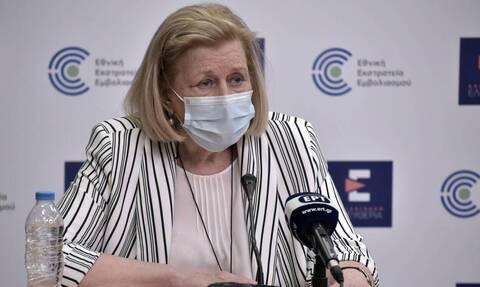 Θεοδωρίδου: Εμβολιασμός με μια δόση μετά από 6 ως 12 μήνες για όσους έχουν νοσήσει από κορονοϊό