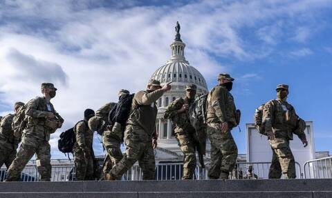 ΗΠΑ: Πέντε μήνες μετά την επίθεση της 6ης Ιανουαρίου, η Εθνοφρουρά αποχωρεί από το Καπιτώλιο