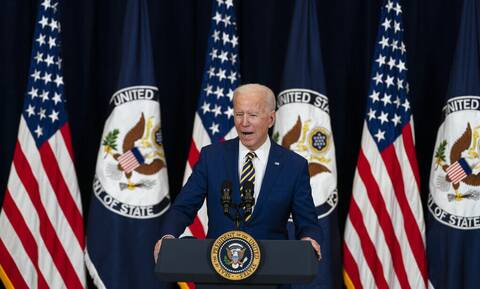 Ο πρόεδρος των ΗΠΑ, Τζο Μπάιντεν